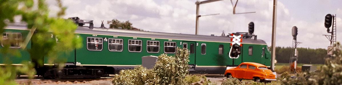 NS Mat 46 op weg naar Almelo
