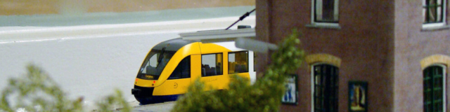 "Regiotrein ""Lint"" bij station Delden"